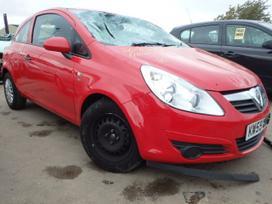 Opel Corsa. Platus naudotų detalių
