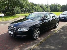 Audi A6 dalimis. Naujai ardomas puikios