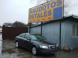Audi A6. Variklis dalimis, turime ir