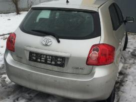 Toyota Auris dalimis. Europa 74000km tikra