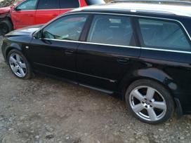 Audi A4 dalimis. Audi a4 s-line apdaila.