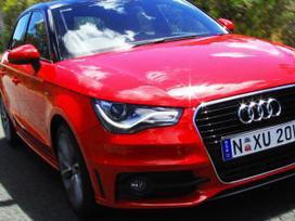 Audi A1. Naujų orginalių detalių užsakymas