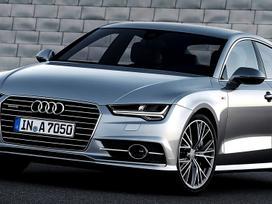 Audi A7 Sportback. Naujų orginalių detalių