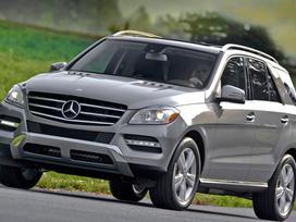 Mercedes-benz Ml klasė. Naujų orginalių
