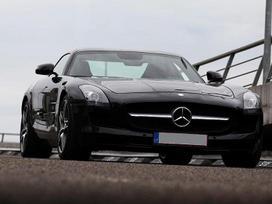Mercedes-benz Sls Amg 6.2 l. kupė (coupe)