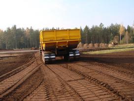 Ugb Durpių puspriekabė, traktorinės priekabos
