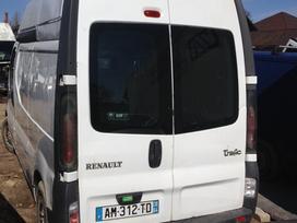 Renault Trafic dalimis. 2,5dci