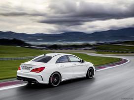 Mercedes-benz Cla klasė. Naujų originalių