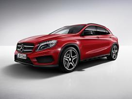 Mercedes-benz Gla klasė. Naujų originalių