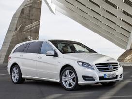 Mercedes-benz R klasė. Naujų originalių