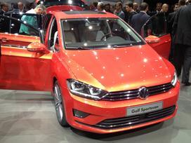 Volkswagen Golf Sportsvan. Naujų orginalių