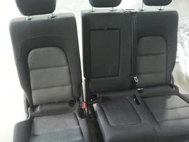 Audi Q5 durų apmušalai, apdailos detalės, sėdynės