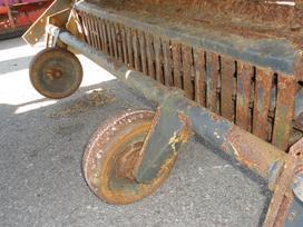 Hagedorn/wiesent 2, traktorinės priekabos
