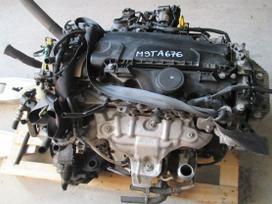 Opel Movano variklio detalės