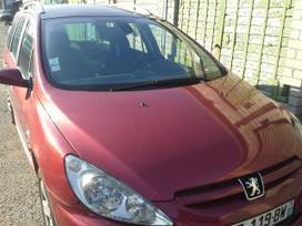 Peugeot 307. .1.6hdi.80kw .variklis dalimis