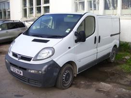 Opel Vivaro. Dalis siunciudetali vysylaju