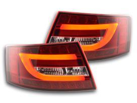 Audi A6. .galiniai zibintai tube audi a6 04
