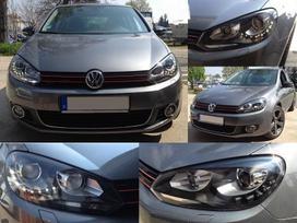 Volkswagen Golf. Galiniai zibintai su led- r