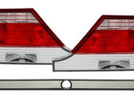 Mercedes-benz S klasė. Tuning dalys. galiniai
