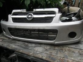 Opel Agila. Sparnas - buferis