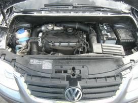 Volkswagen Touran dalimis. Pristatymas visoje