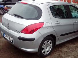Peugeot 308. europa-anglija, dalis siunciu.