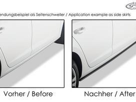Audi A5. galiniai carbon difuzoriai-tinka tik