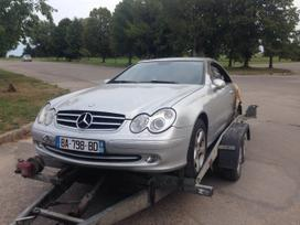 Mercedes-benz Clk klasė. Start stop
