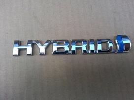 Toyota Auris. Kapotas sparnas l halogenas