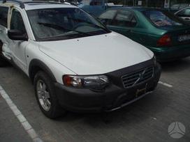 Volvo Xc70. Benzinasdyzelisodinis salonas