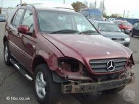 Mercedes-benz M klasė. доставка бу запчастей