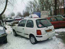 Nissan Micra dalimis. Iš prancūzijos. esant