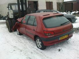 Peugeot 306 dalimis. Iš prancūzijos. esant