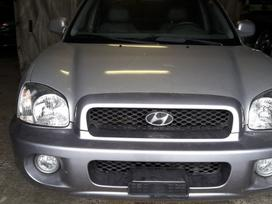 Hyundai Santa Fe. 4x4, r-16, sildoma oda, ir t.t