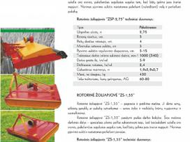Rmg Zsp 2,75, Šienapjovės / smulkintuvai