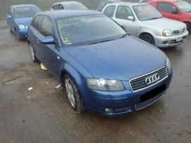 Audi A3 dalimis. Naujai ardomas automobilis,