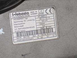Mercedes-benz Webasto, Eberspacher, sunkvežimiai