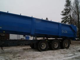 Ugb Grūdinė puspriekabė 24 tonų 3-,