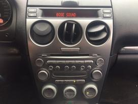Mazda 6. Odinis salonas, xenon  naudotos