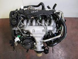 Citroen C5 variklio detalės