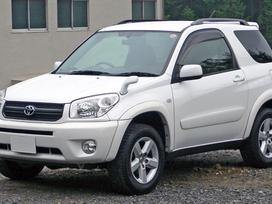 Toyota Rav4. Naudotu ir nauju japonisku