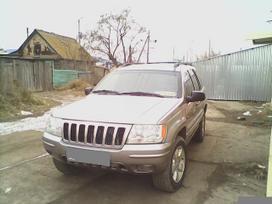 Jeep Grand Cherokee. Dalimis 2.7 ir 3.1