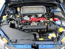 Subaru Impreza Wrx dalimis. Jau lietuvoje v