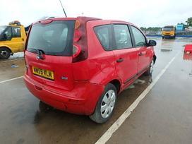 Nissan Note. benzin-dyzel, dalis siunciu.