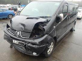 Renault Trafic dalimis. Turime ivairiu