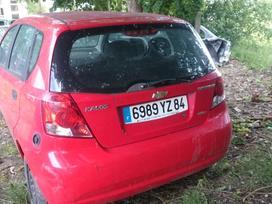 Chevrolet Kalos dalimis. Iš prancūzijos.