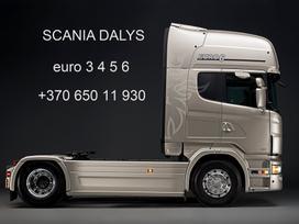 Scania Scania dalimis vilkikai