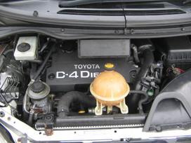 Toyota Previa. UAB augenera, nuklono g. 26,