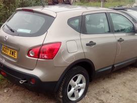 Nissan Qashqai. dalis siunciu, 50t.myl.