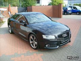 Audi A5 dalimis. Naujai pradeta ardyt.